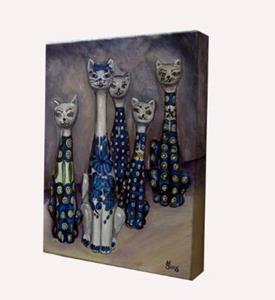 Detail Image for art Cats: Polish Pottery LI