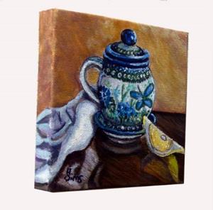 Detail Image for art Tea and Lemon: Polish Pottery XLII©