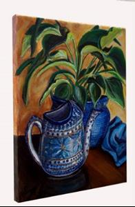 Detail Image for art Watering Time: Polish Pottery XLIV©