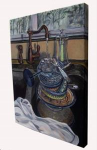 Detail Image for art A Sink Full: Polish Pottery L