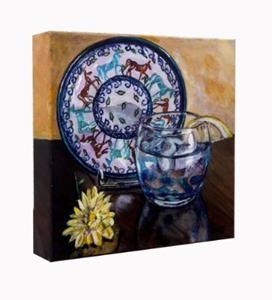 Detail Image for art Horse Plate: Polish Pottery LVI