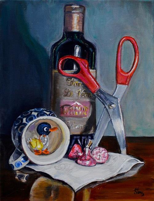Art: A Random Still Life by Artist Heather Sims