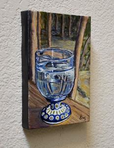 Detail Image for art Water Glass: Polish Pottery LXIII
