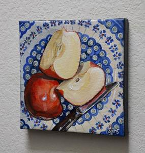 Detail Image for art Apples: Polish Pottery LXXXV