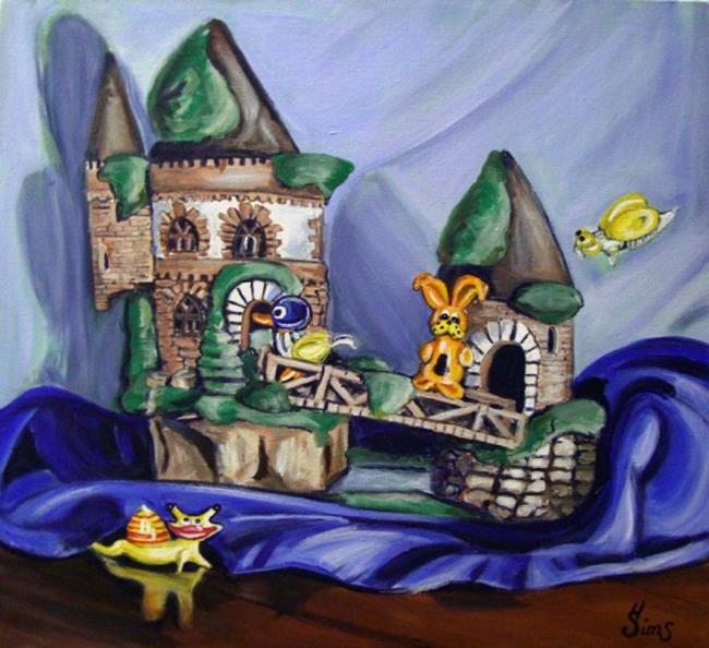 Art: Castle Chaos by Artist Heather Sims