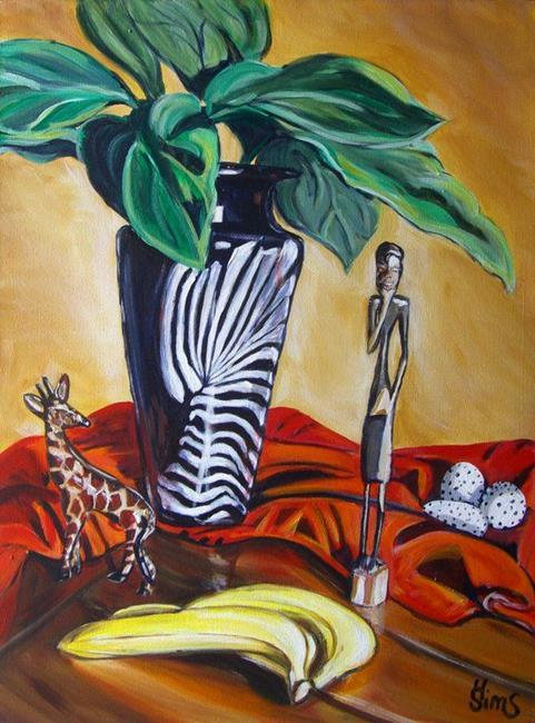Art: Africa II: The Thinking Man by Artist Heather Sims