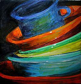 Detail Image for art Stacked!! Polish Pottery XVIII