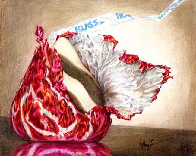 Art: Hug Unflured by Artist Alma Lee