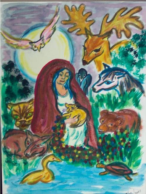 Art: Sophia's  Vigil by Artist Karin Elizabeth Weiss