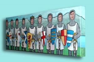 Detail Image for art King Arthur and the Knights of the Round Table