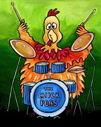 Art: Drumsticks by Artist Amanda Hone