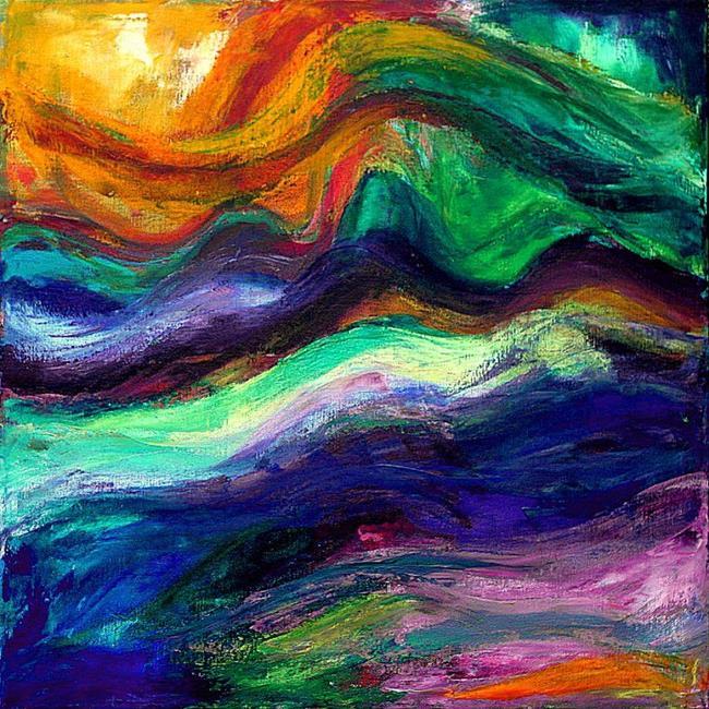Art: Storm by Artist Amanda Hone