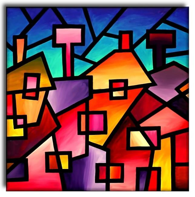 Image gallery modern art cubism Define contemporary country
