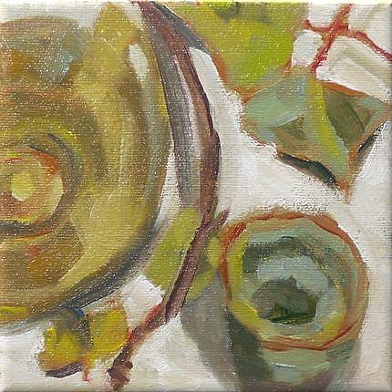Art: tea leaves by Artist C. k. Agathocleous