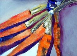 Art: Carrots by Artist C. k. Agathocleous
