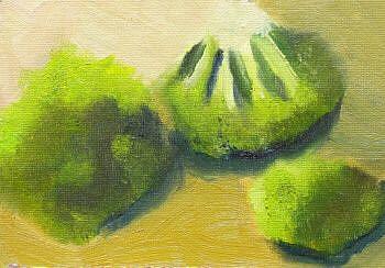 Art: broccoli by Artist C. k. Agathocleous