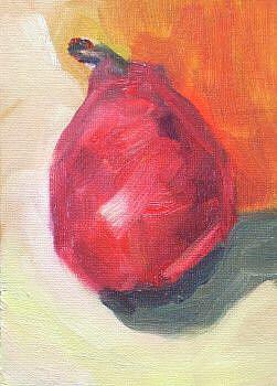 Art: small pear by Artist C. k. Agathocleous