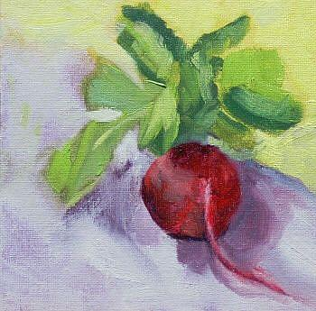 Art: radish by Artist C. k. Agathocleous