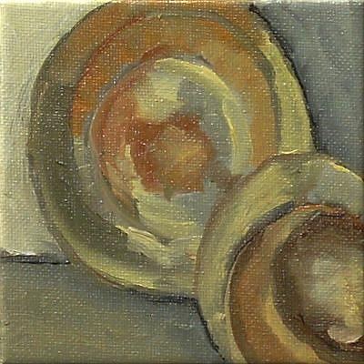 Art: cup and saucer by Artist C. k. Agathocleous