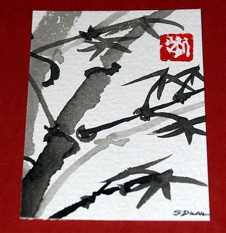 Art: Bamboo #2 sold by Artist Shari Lynn Schmidt