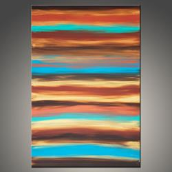 Art: Flowing River by Artist Hilary Winfield