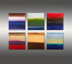 Art: Dreaming of Six Sunsets by Artist Hilary Winfield