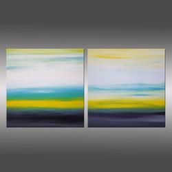 Art: Sunrise & Sunset 2 by Artist Hilary Winfield