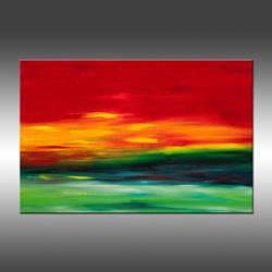 Art: Island Sky 2 by Artist Hilary Winfield
