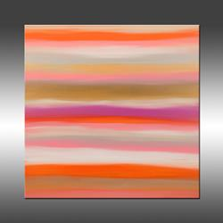 Art: Sunset 10 by Artist Hilary Winfield