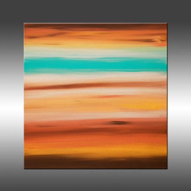 Art: Sunset 9 by Artist Hilary Winfield