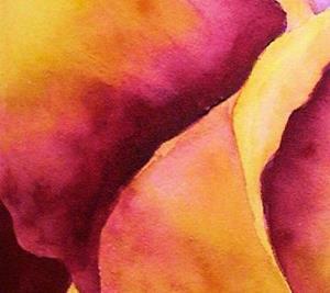 Detail Image for art Flaming Tulip