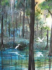 Detail Image for art FLORIDA EVERGLADES - SOLD