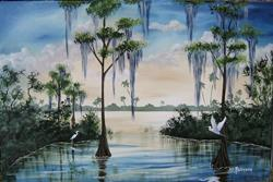 Art: Florida Landscape #0140 sold by Artist Ke Robinson