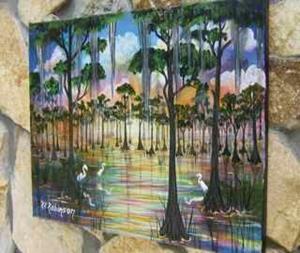 Detail Image for art FLORIDA SWAMP BIRDS