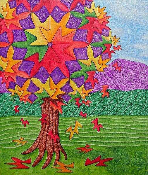 Art: Letting Go by Artist Maureen Frank