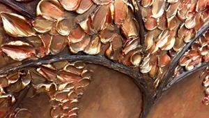 Detail Image for art METALLIC TREE