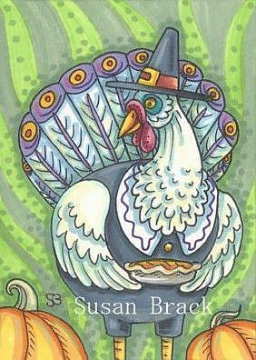 Art: PILGRIMS PREFER PIE by Artist Susan Brack