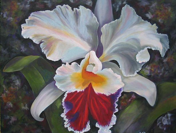 Art: Orchid by Artist Ke Robinson