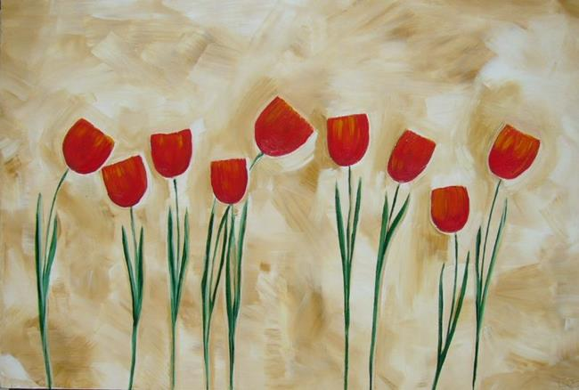 Art: TULIPS 3 by Artist Eridanus Sellen