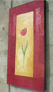 Detail Image for art COLLAGED TULIP
