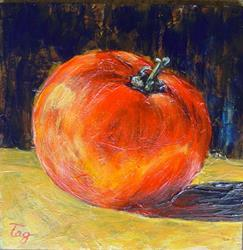 Art: Tomato by Artist Tracey Allyn Greene
