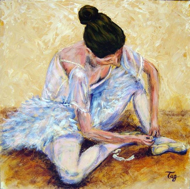Art: Dancer Study by Artist Tracey Allyn Greene