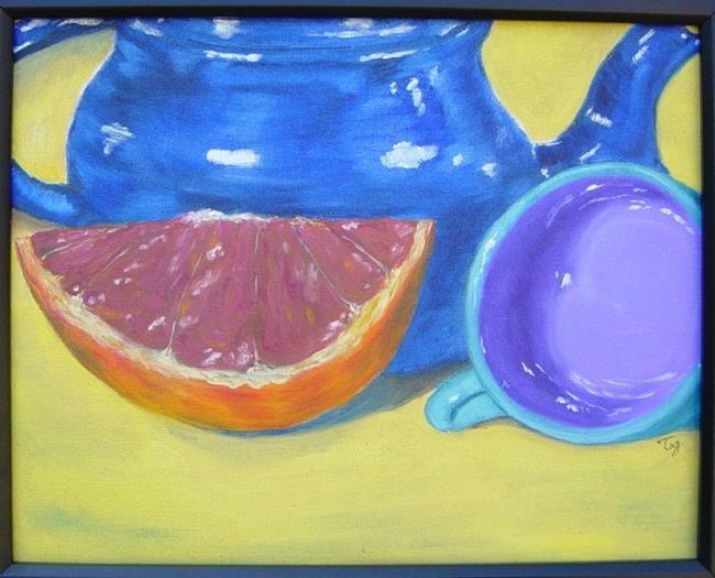 Art: Grapefruit's Wrath by Artist Tracey Allyn Greene