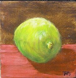 Art: Lime by Artist Tracey Allyn Greene