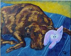 Art: Molly by Artist Tracey Allyn Greene