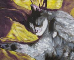 Art: Sunshine Makes Me Sleepy  2 by Artist Tracey Allyn Greene