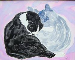 Art: Buddies by Artist Tracey Allyn Greene