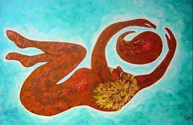 Art: Islands of my Heart by Artist Tracey Allyn Greene