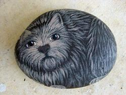 Art: cairn terrier by Artist Tracey Allyn Greene