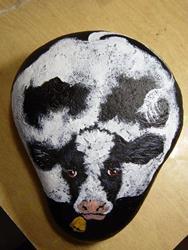 Art: Cows Rock! by Artist Tracey Allyn Greene